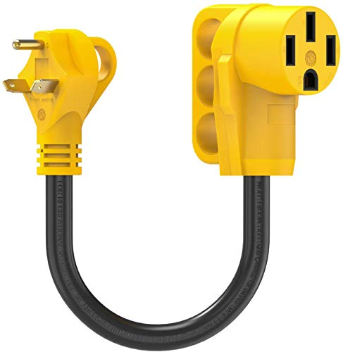 Kohree 30 Amp to 50 Amp RV Plug Adapter