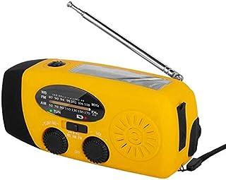 راديو - راوتر TTKK للطوارئ المشع بالطاقة الشمسية ذاتياً AM/FM/WB(NOAA) راديو ، مصباح يدوي للهواتف الخلوية: الهواتف الذكية ...