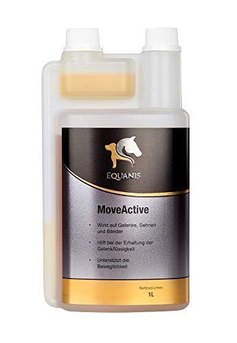 Equanis MoveActive - MSM und Glucosamin Liquid zur Unterstützung von Sehnen, Bändern, Knorpel bei Gelenksproblemen