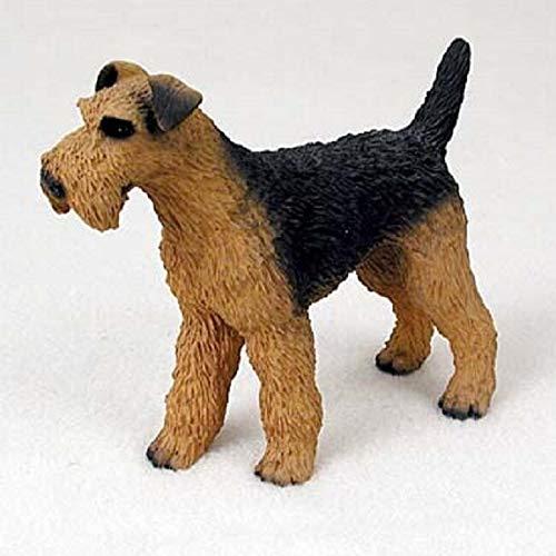 Eyedeal Figurines Airedale Terrier Perro Figura Decorativa