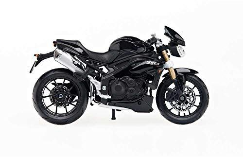bester der welt Triumph Motorcycle Speed Triple 1:18, Schwarz 2021
