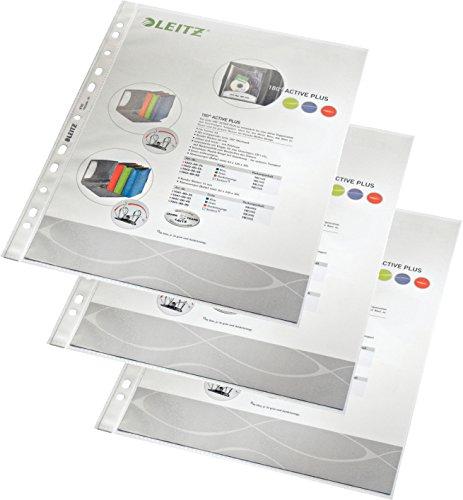 Leitz 4790 Prospekthüllen (Polypropylen, A4) 300er Pack