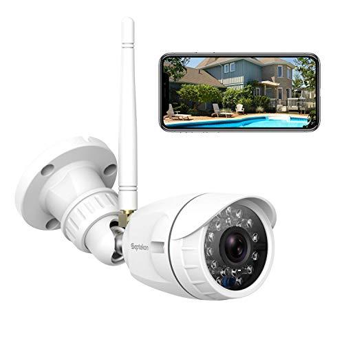 Outdoor Security Camera, Septekon 1080P Home Wireless WiFi Surveillance...