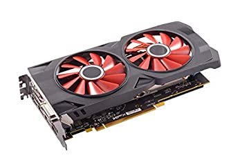 XFX Radeon RX 570 RS Graphics Card Black/Red  RX-570P427D6   Renewed