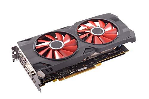 XFX Radeon RX 570 RS Graphics Card Black/Red (RX-570P427D6) (Renewed)