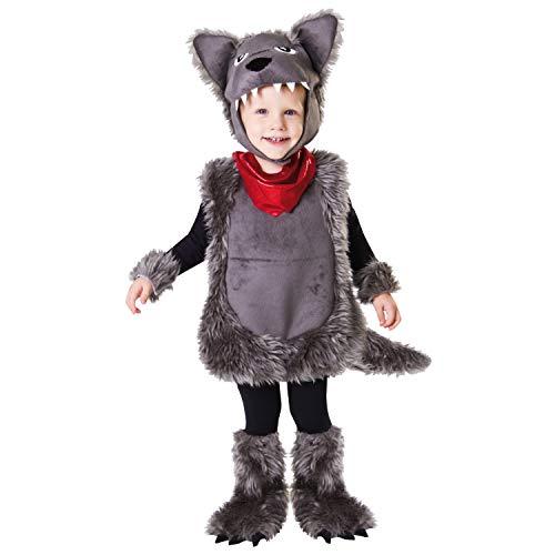 Desconocido My Other Me-203201 Disfraz de pequeño lobo, 3-4 años (Viving Costumes 203201)