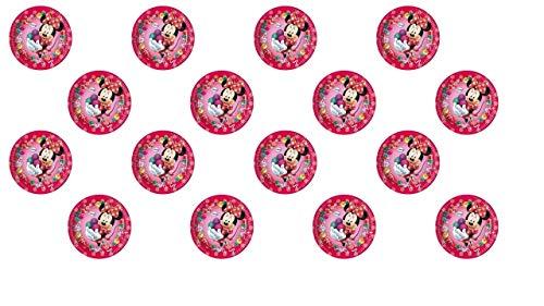 3030; 2 paquetes de 8 platos de cartón 23cm DISNEY MINNIE SWEET; ideal para fiestas y cumpleaños