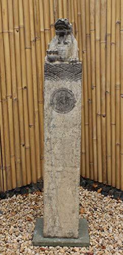 Asien Lifestyle Pagode chinois en pierre naturelle 150 cm
