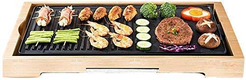 WLDQ Grill Grill Grillpfanne Elektrische Grillpfanne Haushalt Antihaft-grillmaschine Rechteckiges Multifunktions-teppanyaki