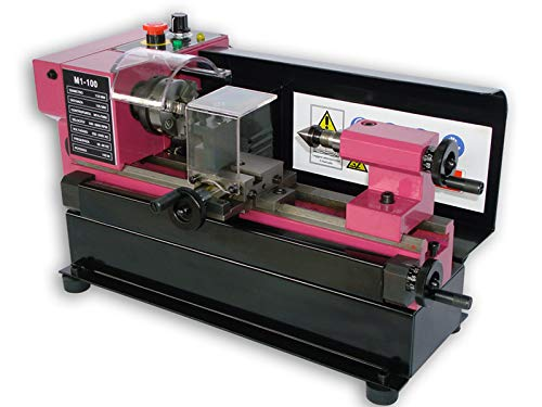 Tornio da banco per metallo di precisione M1-100 SOGI 110x175 mm