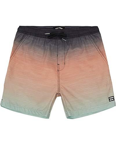 BILLABONG - All Day Faded Laybacks 16' Bañador de Surf de pantalón con Cintura elástica para Niño, Verde (Mint)