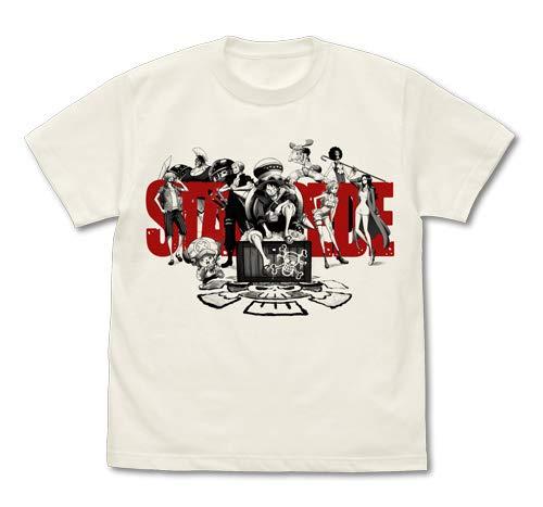 ONE PIECE STAMPEDE Tシャツ バニラホワイト Lサイズ