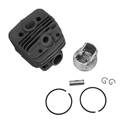Kit de pistón de cilindro de sierra de cadena Diámetro de pistón de precisión de 56 mm Ajuste para motosierra grande Stihl 660 MS660