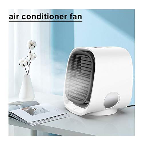 Refrigerador De Aire Acondicionador De Aire Portátil Mini Ventilador Del Refrigerador De Aire Evaporativo Personal De Aire Con Ventilador USB Humidificador De Escritorio Ventilador De Refriger