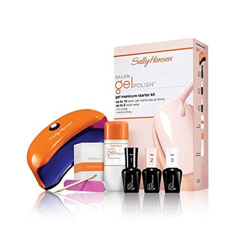 Sally Hansen Salon Pro Gel Nail Polish, Nail Color Starter Kit Shell We Dance?