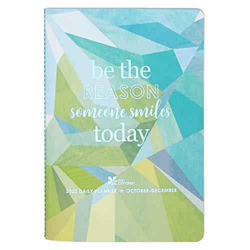 Erin Condren 2020 Tagesplaner Band 4 (Oktober 2020 - Dezember 2020) – Petite Planer, inklusive Tageskalender mit Rundspitzen-Checkliste für Aufgaben und Fehler