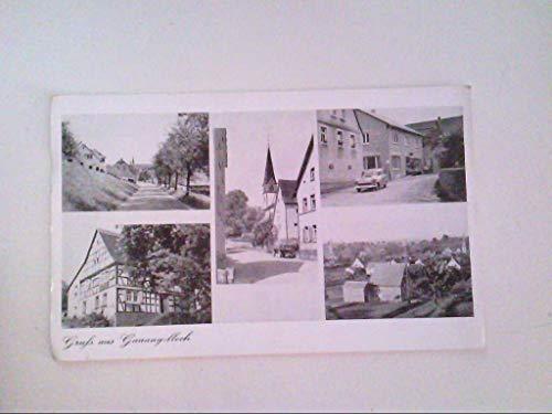 Gauangelloch. Mehrbildkarte mit 5 Abb. Kaffee, Bäckerei und Kolonialwaren. Heinrich Emert. AK.