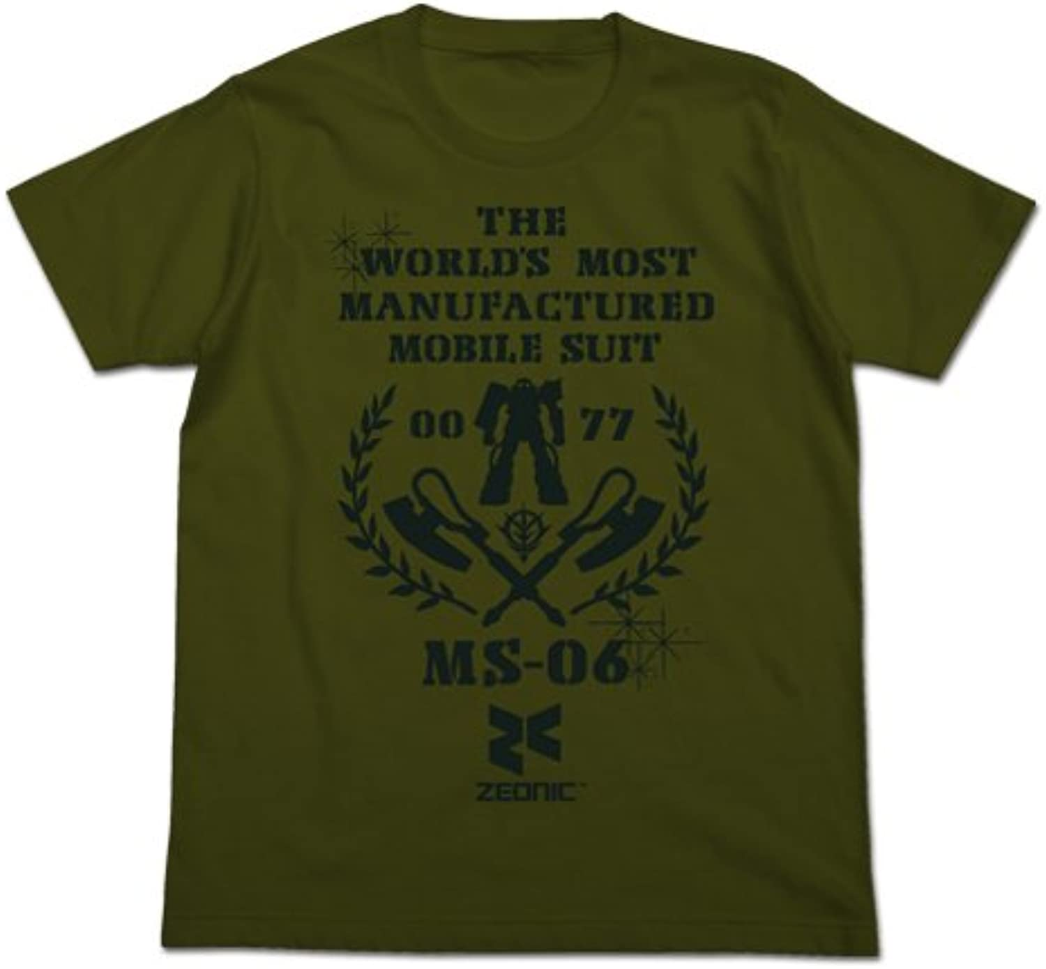 M  MST Moss shirt size is the most massproduced Mobile Suit Gundam (japan import)