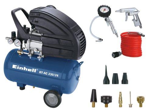 Einhell BT-AC 230/24 Kit - Compresor de aire