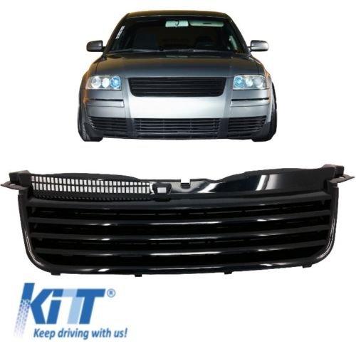 KITT GV02 Front Grill ABS schwarz Badgeless Debadged Sport Front Grill 00-04