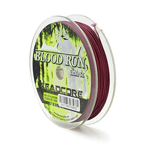 27LB Lead Core 100 YD Trolling Line Blood Run Tackle
