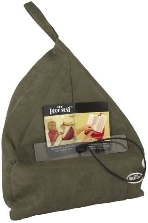 The Book Seat - Book Holder and Travel Pillow - Grey