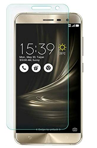 Luckyandery - Protector de pantalla para Asus ZenFone 3 ZE552KL, cristal templado, dureza 9H, antiarañazos, para Asus ZenFone 3 ZE552KL - Asus ZenFone 3 ZE552KL, Asus ZenFone 3 ZE552KL, Paquete de 6