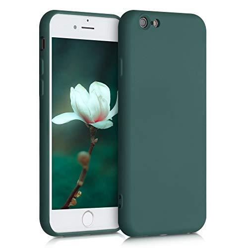 kwmobile telefoonhoesje compatibel met Apple iPhone 6 / 6S - Hoesje voor smartphone in mosgroen