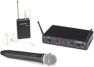 Samson Concert 288 Dual Channal Pro Combo Wireless Microphone