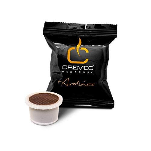 Caffè Cremeo - 100 Capsule Compatibili con Sistema UNO SYSTEM - Miscela Arabica Espresso Bar