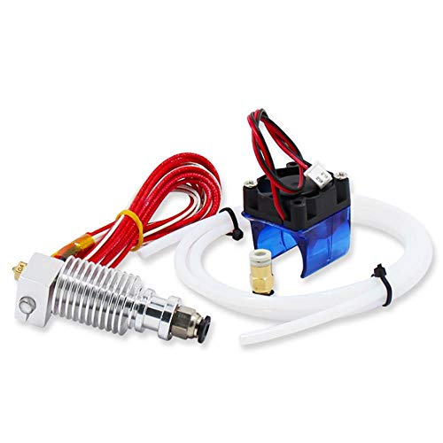 ILS - 0,4 mm J-kop Hotend Extruder Remote Kit Suppport 1,75 mm PLA/ABS filament met ventilator + ventilator Cove