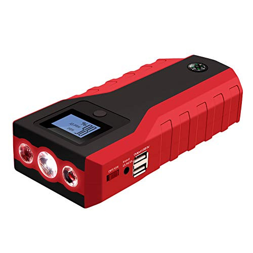 For Sale! MTSBW Car Jump Starter, Car Emergency Start Power Supply, 12800Mah Capacity, with USB Fast...
