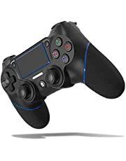 JOYSKY Mando Inalámbrico para PS4,Controlador De Juegos Inalámbrico con Control De Vibración Dual del Motor De Doble Palanca para Playstation 4 / Playstation 3 (Azul)