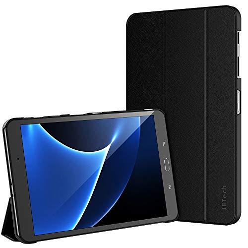 JETech Custodia per Samsung Galaxy Tab A 10,1 2016 (SM-T580 / T585, Non per il Modello 2019), Cover con Funzione di Supporto, Auto Svegliati/Sonno, Nero