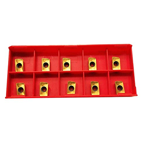 10pcs Milling Inserts APMT1135 PDER-DP BP010 Carbide Inserts Cutting Tools For BAP400R Holders Processing Steel parts