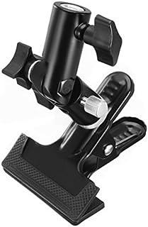Double Mounting V-Shape Flash Shoe Bracket Studio Holder 12cmx9cm Black by Ucland