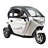 VELECO 3 Wheel Electric Vehicle Electric Mobility Scooter Double Electric Car 45km/h White