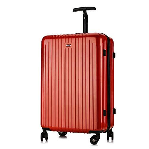 LSYOA Hardschalen bagage trolley, met 4 draaibare wielen koffer super lichte zaak rolkoffer draagbare reiskoffer