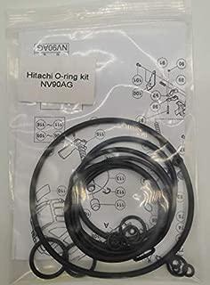 NV90AG NV90AG(S) O-RING REBUILD KIT For HITACHI 3-1/2-Inch COIL FRAMING NAILER GUN WITH TRIGGER O-RINGS