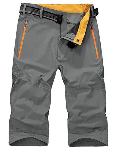 KEFITEVD Shorts Herren 3/4 Outdoor Hose...
