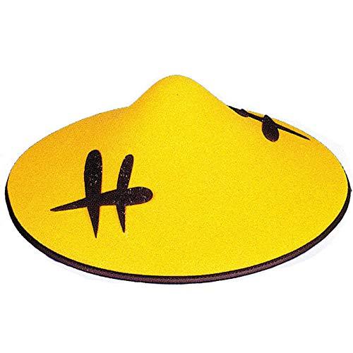 WOOOOZY Hut Chinese gelb, Ø 34 cm