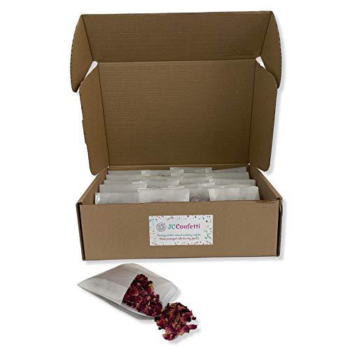 20sachets de confettis de mariage naturels, 100% biodégradables et respectueux de...