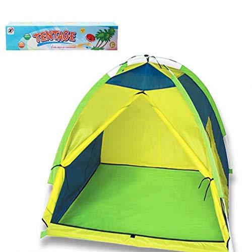 CSDY-Kinderzelt, Wildhaus, Tragbares Großes Spielhaus, Camping, Garten, Innen- / Außenbereich Für Kinder Und Babys