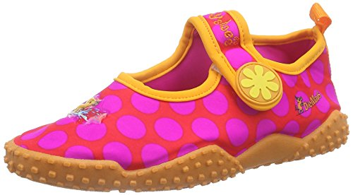 Playshoes Mädchen Aqua-Schuhe Die Maus Punkte, Pink (original 900), 26/27 EU