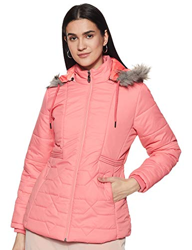 Qube By Fort Collins Women's Jacket (84113Q_Punch Pink_L)