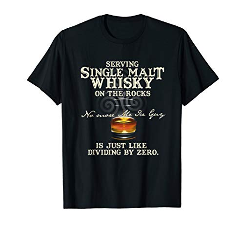 Whisky Design Single Malt - Geschenkidee für Kenner Whisky T-Shirt