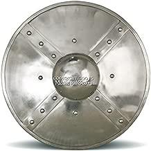 Functional Medieval Buckler Shield Medium Size 14G Steel Combat Grade SCA LARP