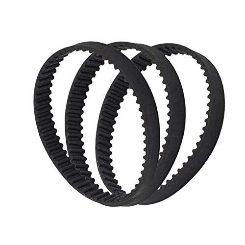 Lruirui-correas de distribución Cinturón de impresora 3D 1 unids, bucle cerrado, cinturón de tiempo GT2 de goma, 2GT-6 200mm, 110/200/280/300/400/610/852, ancho 6mm Correa de distribución premium