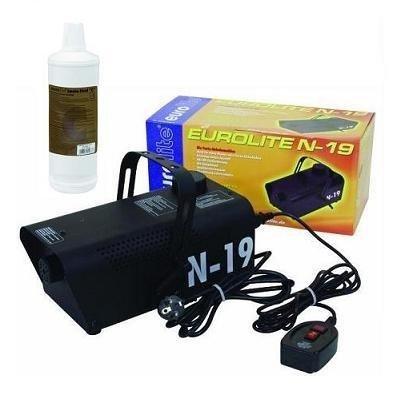 Eurolite N-19 Nebelmaschine schwarz + 1L -C- Fluid