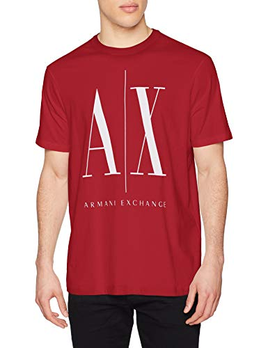 Armani Exchange T-Shirt Camiseta, Scooter, L para Hombre